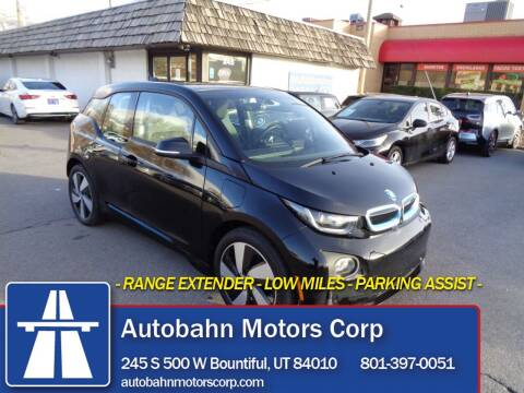 2017 BMW i3 for sale at Autobahn Motors Corp in Bountiful UT