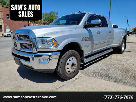 2018 RAM Ram Pickup 3500 for sale at SAM'S AUTO SALES in Chicago IL