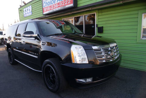 2007 Cadillac Escalade ESV for sale at Amazing Choice Autos in Sacramento CA