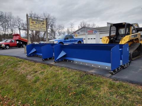 2020 US Container 8'  snow pushers for sale at AFFORDABLE AUTO SVC & SALES in Bath NY
