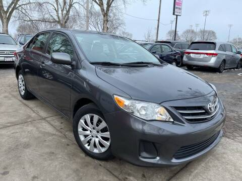 2013 Toyota Corolla for sale at Direct Auto Sales in Milwaukee WI