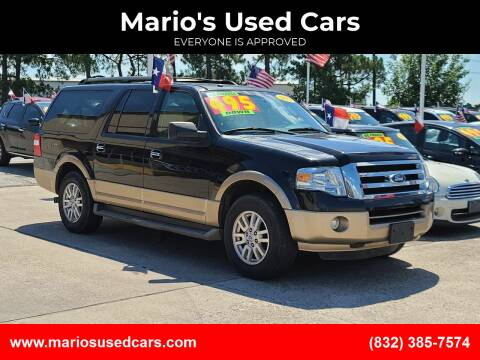 2013 Ford Expedition EL for sale at Mario's Used Cars in Houston TX