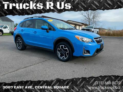 2017 Subaru Crosstrek for sale at Trucks R Us in Central Square NY