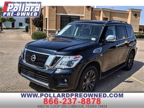 2019 Nissan Armada for sale at South Plains Autoplex by RANDY BUCHANAN in Lubbock TX