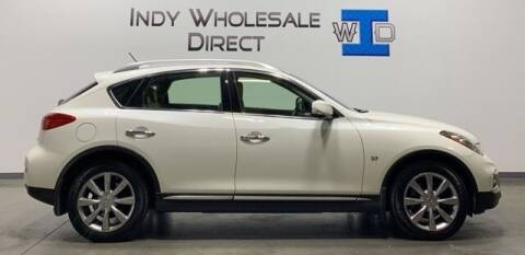 2016 Infiniti QX50 for sale at Indy Wholesale Direct in Carmel IN