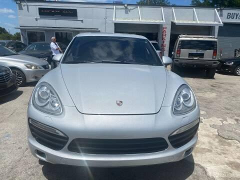 2011 Porsche Cayenne for sale at America Auto Wholesale Inc in Miami FL