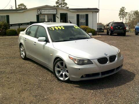 2006 BMW 5 Series for sale at Let's Go Auto Of Columbia in West Columbia SC