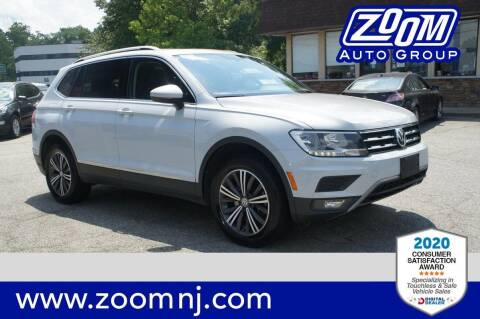 2018 Volkswagen Tiguan for sale at Zoom Auto Group in Parsippany NJ