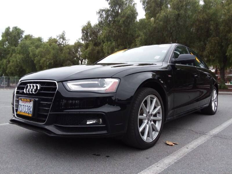 2016 Audi A4 for sale at ALL CREDIT AUTO SALES in San Jose CA