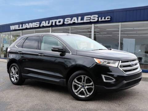 2015 Ford Edge for sale at Williams Auto Sales, LLC in Cookeville TN
