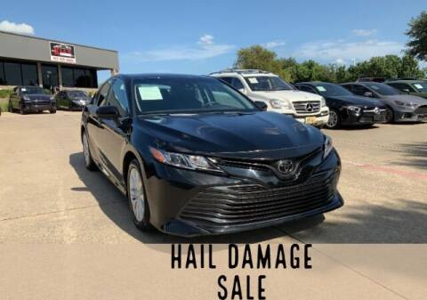 2020 Toyota Camry for sale at KIAN MOTORS INC in Plano TX