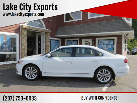 2017 Volkswagen Passat for sale at Lake City Exports in Auburn ME