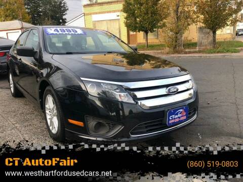 2010 Ford Fusion for sale at CT AutoFair in West Hartford CT
