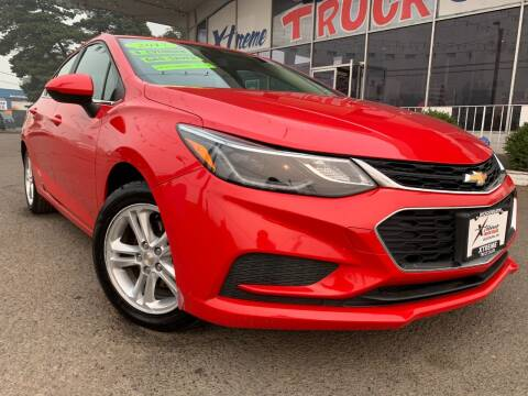 2017 Chevrolet Cruze for sale at Xtreme Truck Sales in Woodburn OR