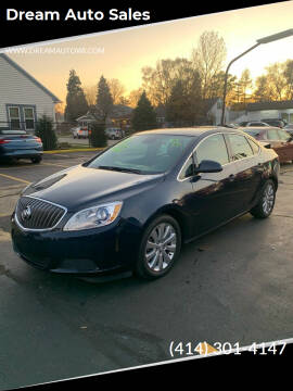 2016 Buick Verano for sale at Dream Auto Sales in South Milwaukee WI
