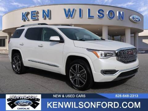 2019 GMC Acadia for sale at Ken Wilson Ford in Canton NC