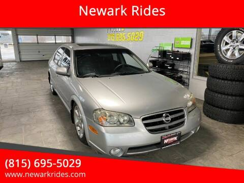 2003 Nissan Maxima for sale at Newark Rides in Newark IL