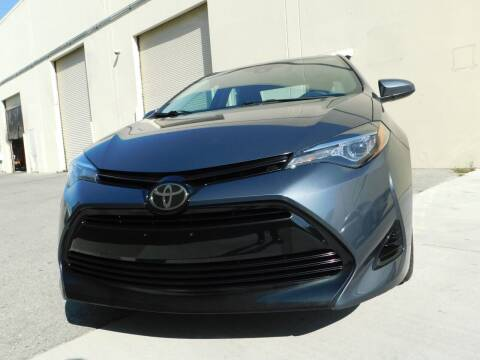 2017 Toyota Corolla for sale at Conti Auto Sales Inc in Burlingame CA
