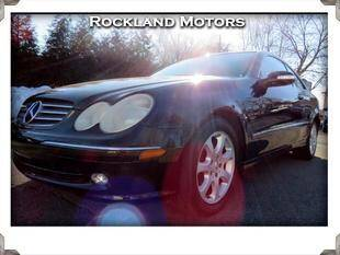 2004 Mercedes-Benz CLK for sale at Rockland Automall - Rockland Motors in West Nyack NY