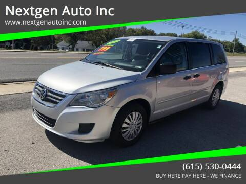 2012 Volkswagen Routan for sale at Nextgen Auto Inc in Smithville TN