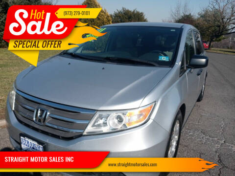 2011 Honda Odyssey for sale at STRAIGHT MOTOR SALES INC in Paterson NJ