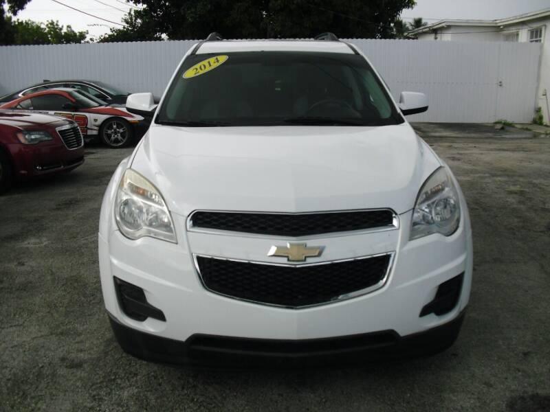 2014 Chevrolet Equinox for sale at SUPERAUTO AUTO SALES INC in Hialeah FL