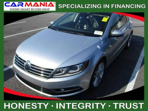 2014 Volkswagen CC for sale at CARMANIA LLC in Chesapeake VA