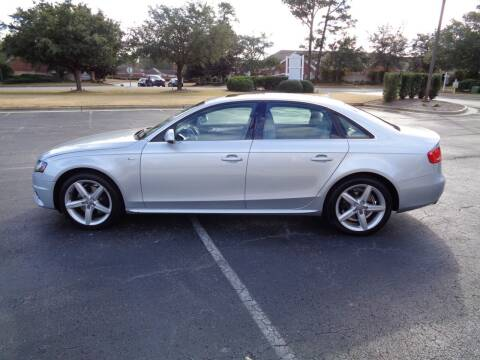 2012 Audi A4 for sale at BALKCUM AUTO INC in Wilmington NC