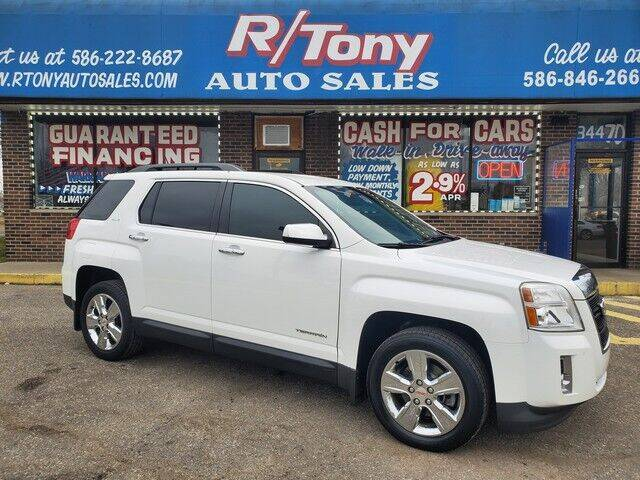 2015 GMC Terrain for sale at R Tony Auto Sales in Clinton Township MI