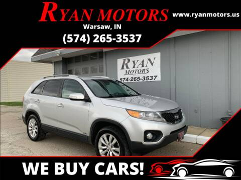 2011 Kia Sorento for sale at Ryan Motors LLC in Warsaw IN