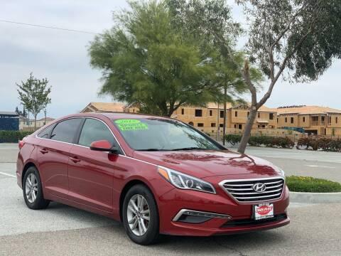 2015 Hyundai Sonata for sale at Esquivel Auto Depot in Rialto CA