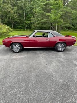 1969 Chevrolet Camaro for sale at Essex Motorsport, LLC in Essex Junction VT