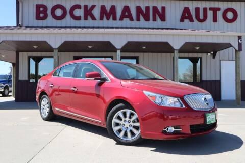 2012 Buick LaCrosse for sale at Bockmann Auto Sales in St. Paul NE