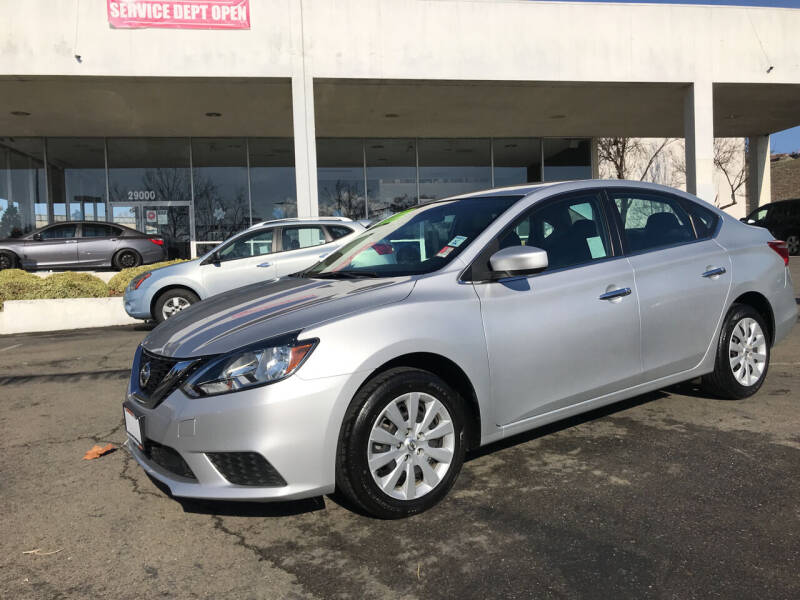 2018 Nissan Sentra for sale at Autos Wholesale in Hayward CA