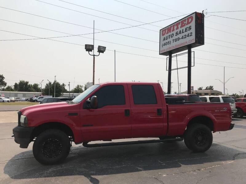2003 Ford F-250 Super Duty for sale at United Auto Sales in Oklahoma City OK