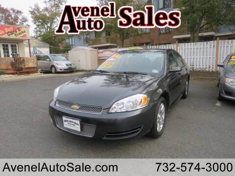 2014 Chevrolet Impala Limited for sale at Avenel Auto Sales in Avenel NJ
