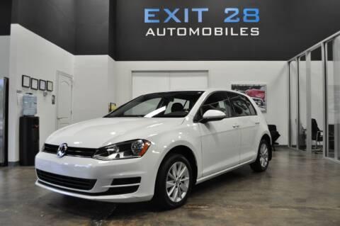 2016 Volkswagen Golf for sale at Exit 28 Auto Center LLC in Cornelius NC