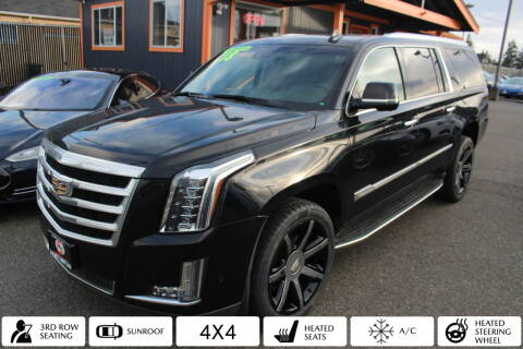 2018 Cadillac Escalade ESV for sale at Sabeti Motors in Tacoma WA