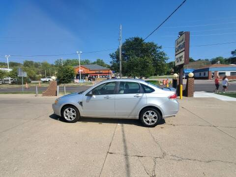 2008 Ford Focus for sale at RIVERSIDE AUTO SALES in Sioux City IA