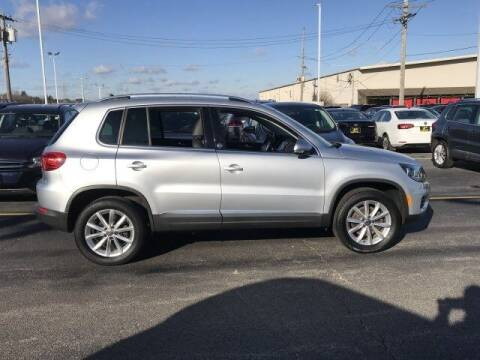 2017 Volkswagen Tiguan for sale at Cj king of car loans/JJ's Best Auto Sales in Troy MI