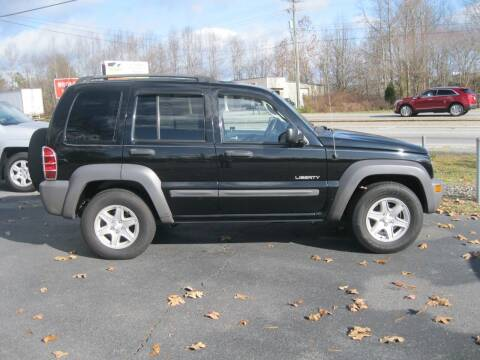 2004 Jeep Liberty for sale at Catawba Valley Motors in Hickory NC