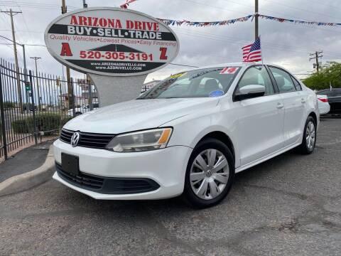 2014 Volkswagen Jetta for sale at Arizona Drive LLC in Tucson AZ