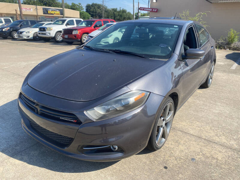 2015 Dodge Dart for sale at Houston Auto Gallery in Katy TX