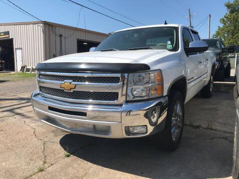 2012 Chevrolet Silverado 1500 for sale at Auto Group South - Idom Auto Sales in Monroe LA