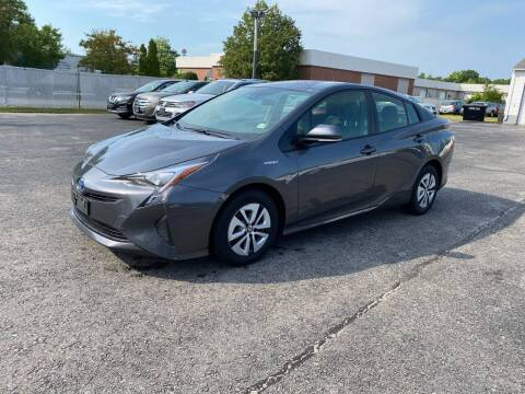 2017 Toyota Prius for sale at Riverside Auto Sales & Service in Portland ME