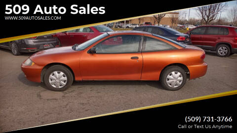 2004 Chevrolet Cavalier for sale at 509 Auto Sales in Kennewick WA