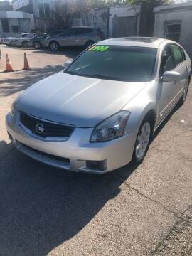 2007 Nissan Maxima for sale at Z & A Auto Sales in Philadelphia PA