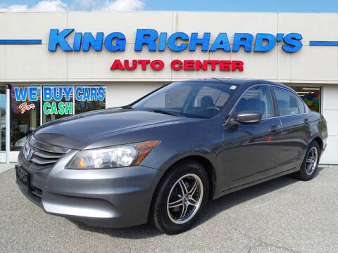 2011 Honda Accord for sale at KING RICHARDS AUTO CENTER in East Providence RI