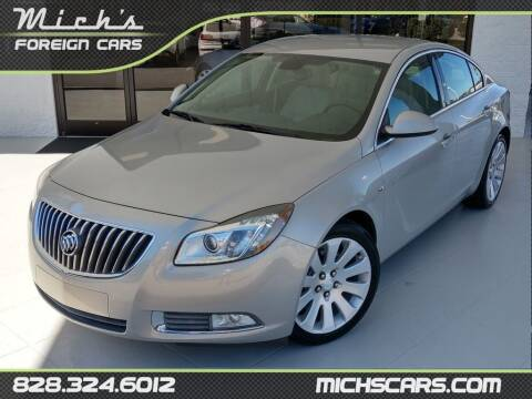 2011 Buick Regal for sale at Mich's Foreign Cars in Hickory NC