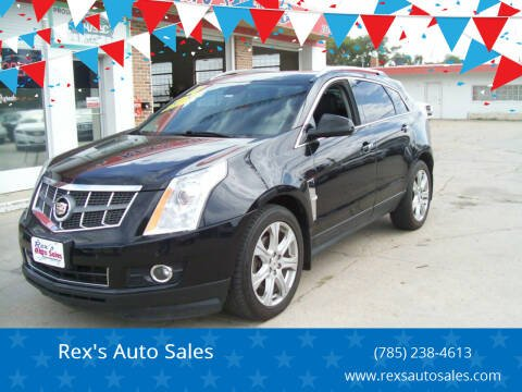 2011 Cadillac SRX for sale at Rex's Auto Sales in Junction City KS